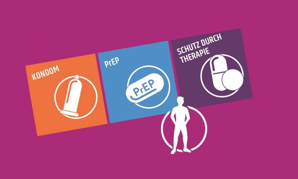 Die drei Safer Sex-Methoden: Kondome, PrEP, Schutz durch Therapie
